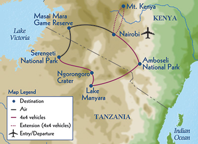 Classic Safari: Kenya & Tanzania - Odysseys Unlimited | The Small