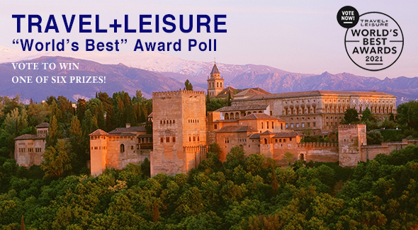 "Vote in T+L's ""World's Best"" Awards"